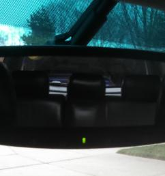 installed gentex homelink auto dimming mirror from a 2006 subaru [ 3263 x 1835 Pixel ]