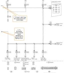 subaru outback illumination control module [ 1085 x 1424 Pixel ]