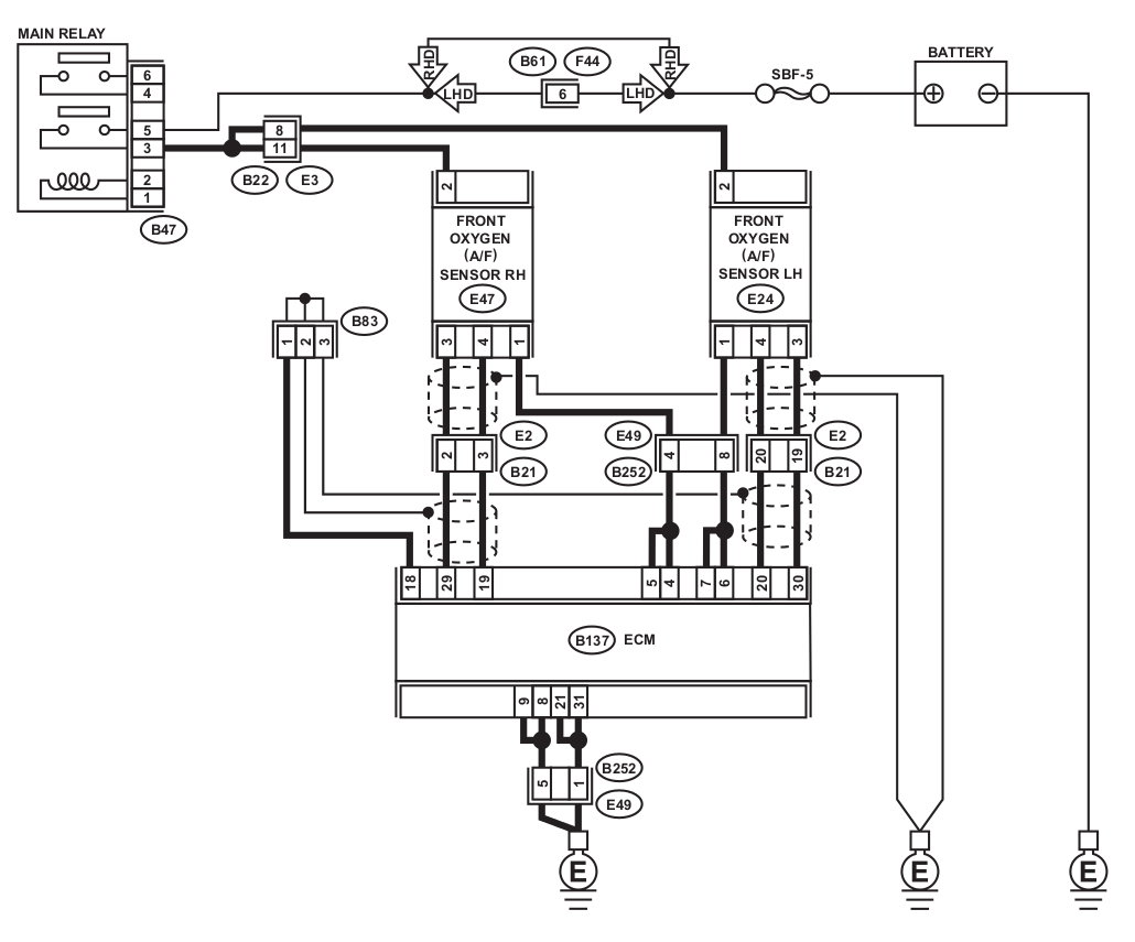 [DIAGRAM] Subaru Impreza 2007 Wiring Diagram FULL Version