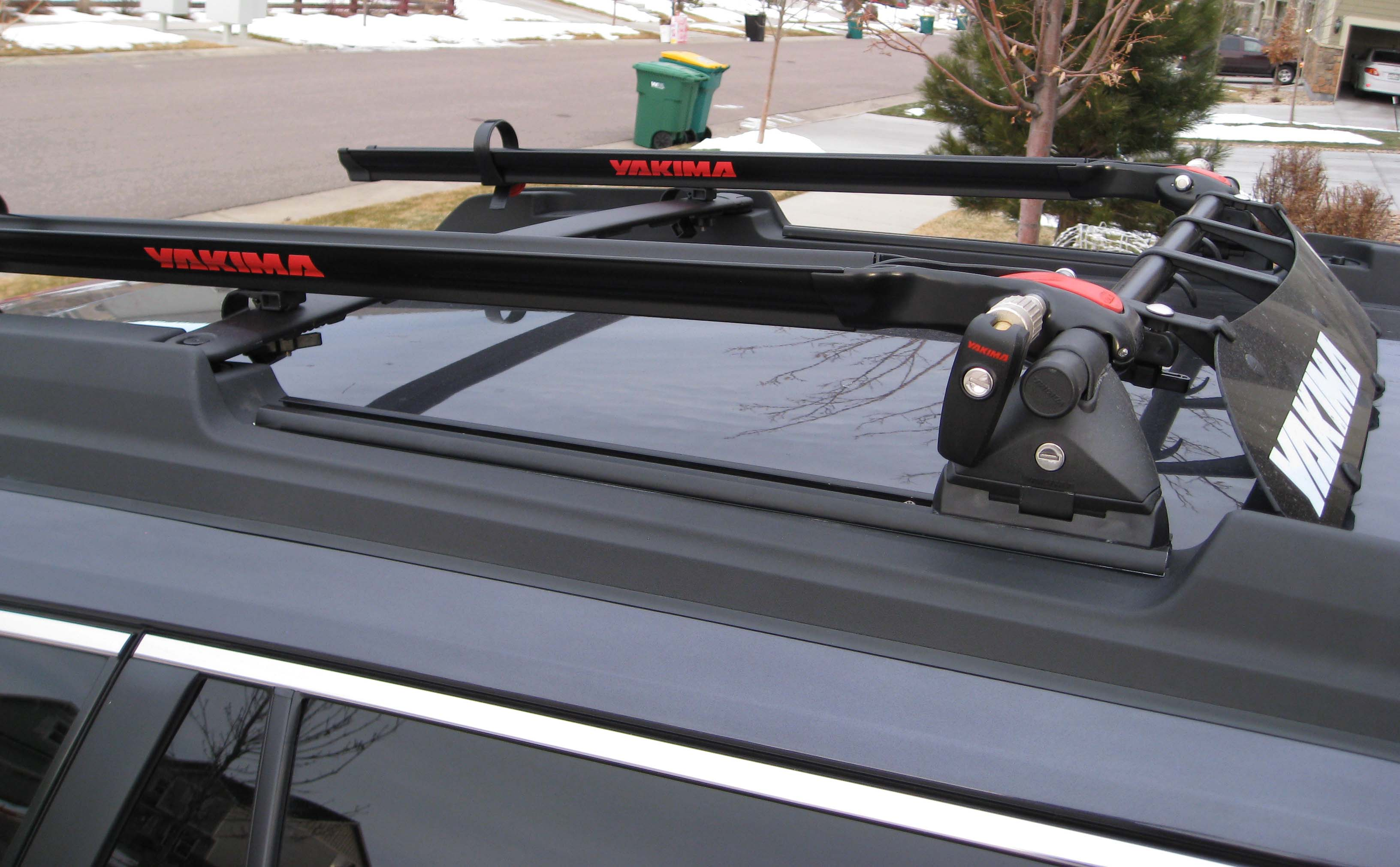 Roof Rack: MOD for bike racks