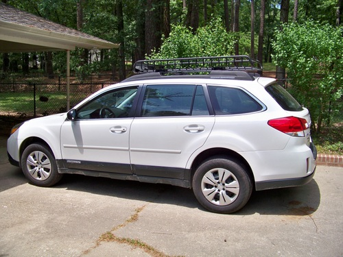 Roof Rack pics on current generation outback