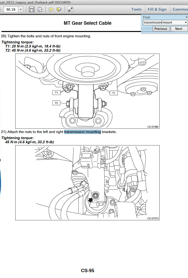 medium resolution of motor and trans mount torque specs subaru outback subaru rh subaruoutback org subaru engine parts diagram