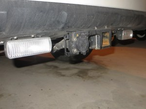Trailer hitch install, trailer wiring, and auxiliary