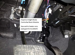 Stealth Electric Trailer Brake Controller Installation  Subaru Outback  Subaru Outback Forums