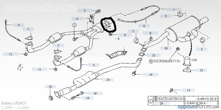 2002 subaru outback exhaust diagram fender twisted tele wiring flex joint gasket part number forums click image for larger version name ll bean jpg views 1829 size