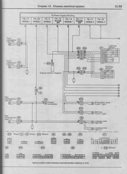 small resolution of 1999 subaru forester starter relay wiring diagram