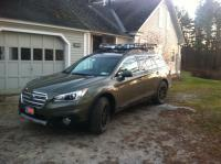 2016 Subaru Outback Yakima Roof Rack - 12.300 About Roof