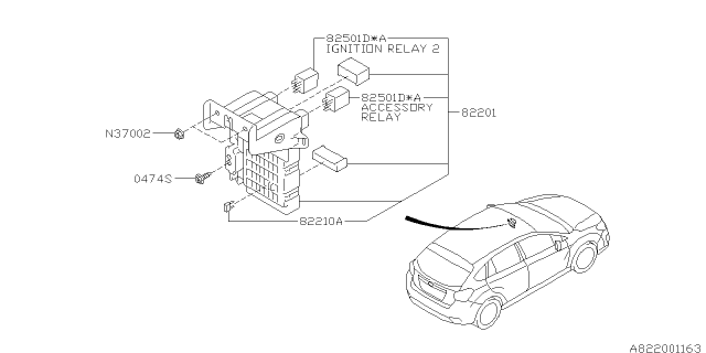 2013 Subaru Impreza Fuse Box Diagram / Chevrolet Malibu