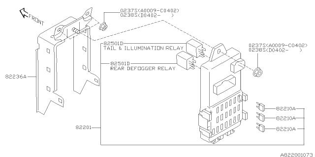 2005 Subaru Impreza Fuse Box Diagram : Subaru Legacy 2005