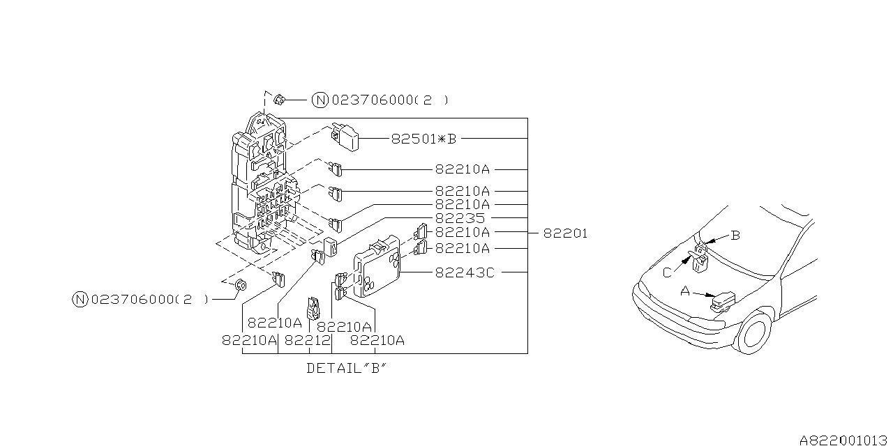 2008 Subaru Impreza Fuse Box Diagram / 2001 Subaru