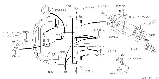 2006 Subaru Tribeca Engine Diagram / 2006 Subaru B9