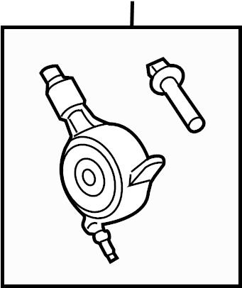 Subaru Legacy Engine Variable Valve Timing (VVT) Solenoid