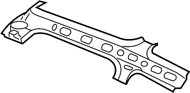 Subaru Legacy Roof Side Rail (Right, Outer). Panel, That