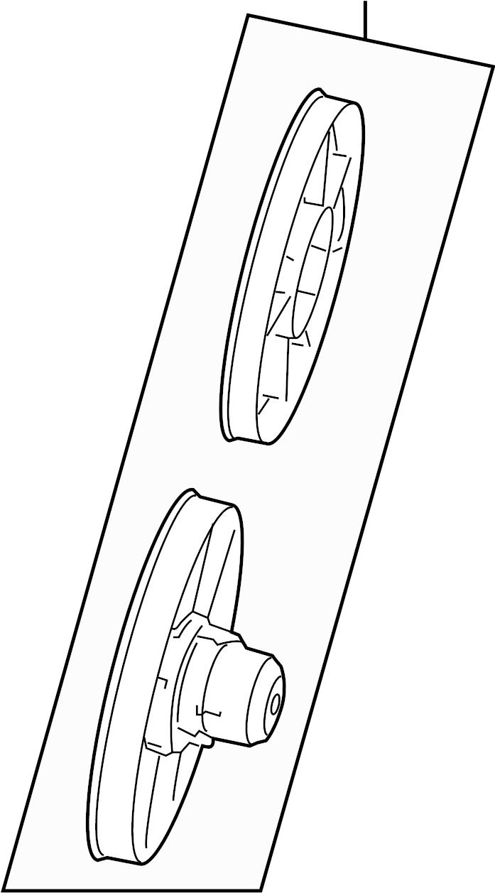 Subaru DL/GL/GL10/RS/RX Engine Cooling Fan Blade. RADIATOR