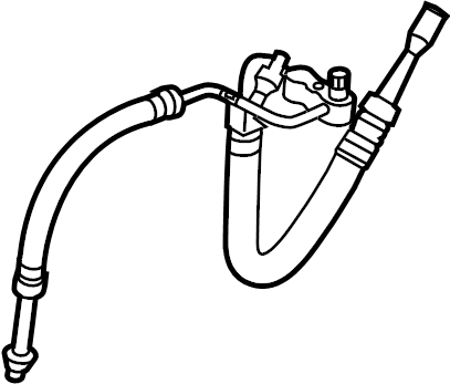 Subaru Impreza Pipe. Conditioning, HEATER, Line