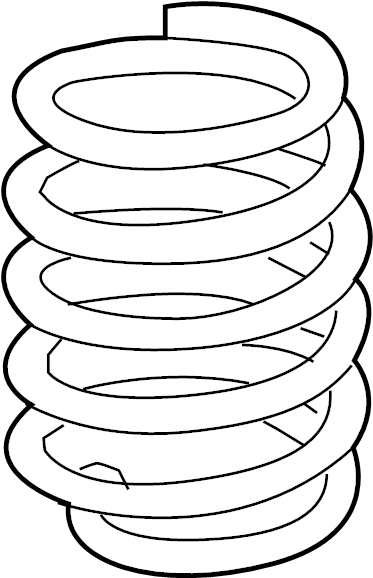 Subaru DL/GL/GL10/RS/RX Coil Spring (Front). ABSORBER
