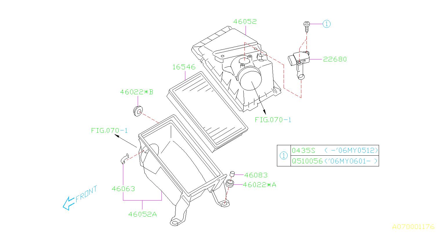 Subaru Sti Mass Air Flow Sensor Meter Air Flow Cleaner