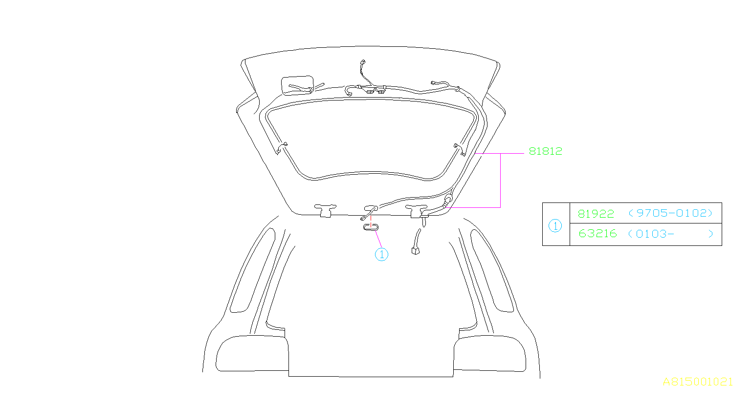 Subaru Forester Hole Plug