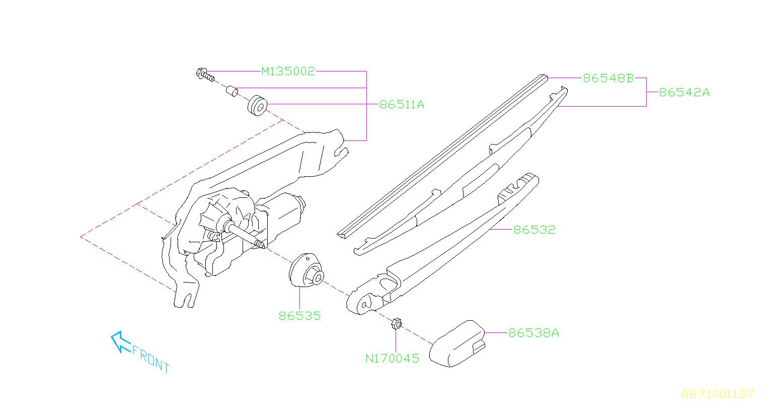 [DIAGRAM] Subaru Forester Wipers Electrical Diagram FULL