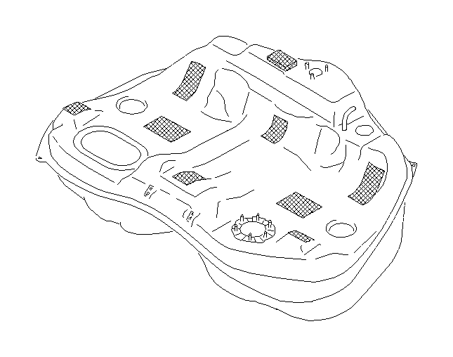 Subaru Legacy Fuel Hose Clamp. TANK, FRONT, Pipe, Engine