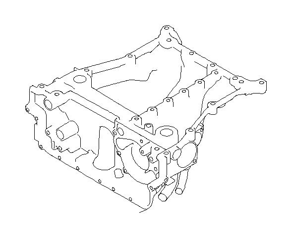 Subaru Legacy Hose assembly-oil cooler. Engine