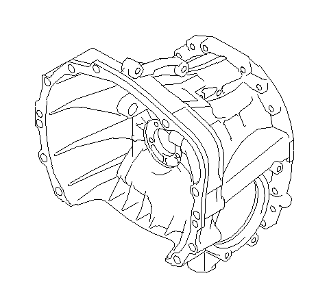 Subaru STI Housing-clutch. Transmission, manual