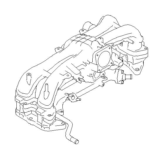 Subaru Legacy Gasket-e.g.r. Pipe. Control, egr, emission