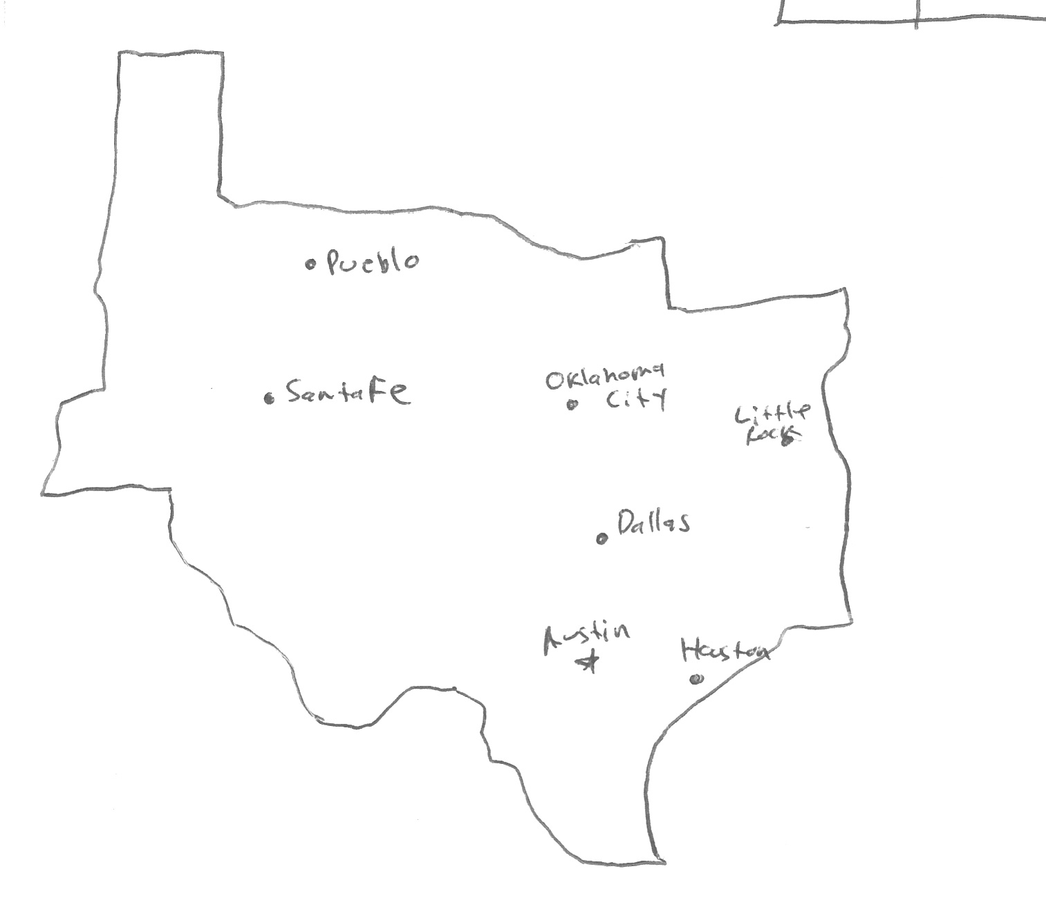 State Capital Map Worksheet