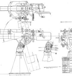 deck gun 3 23 caliber poole gun large images the subchaser murray mower deck diagram large deck diagram [ 1200 x 863 Pixel ]