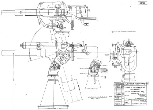small resolution of deck gun 3 23 caliber poole gun large images the subchaser murray mower deck diagram large deck diagram