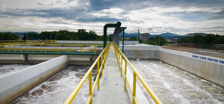 Kalayaan sewage treatment plant upgraded