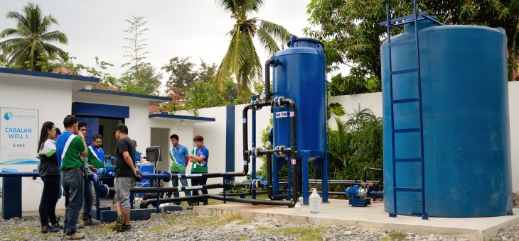 SUBICWATER conducts test run on new micro-filtration facility
