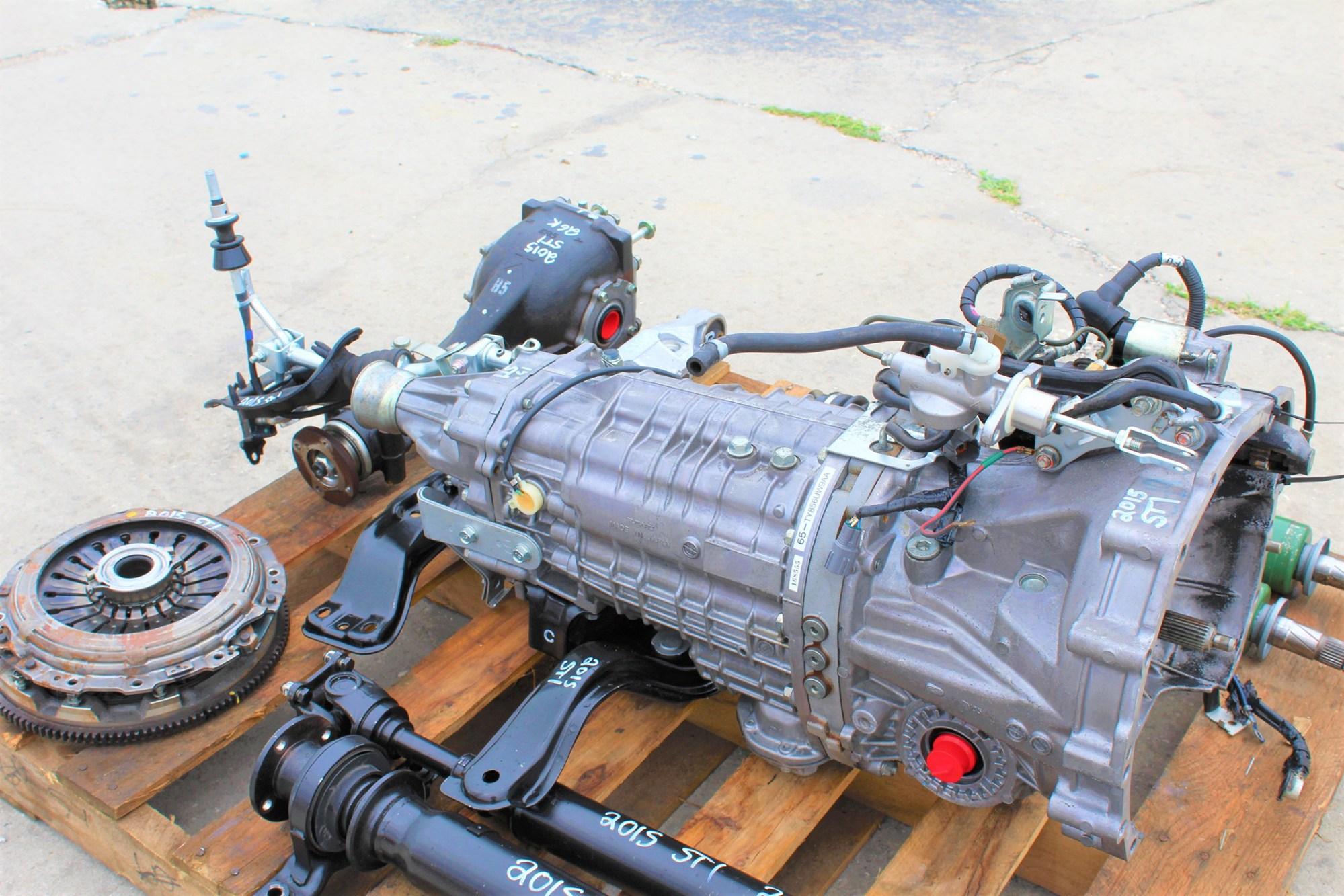 hight resolution of 2015 subaru impreza wrx sti 6 speed transmission swap 26k miles 6mt ej257 direct bolt on package for 08 17 wrx