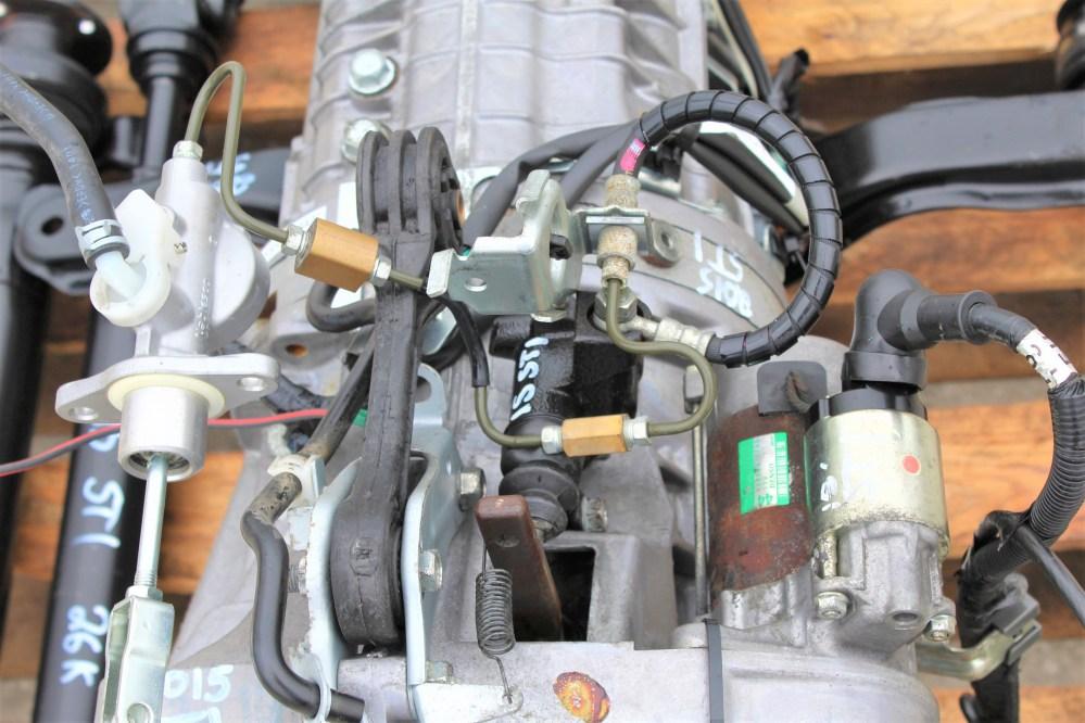 medium resolution of 2015 subaru impreza wrx sti 6 speed transmission swap 26k miles 6mt ej257 direct bolt on package for 08 17 wrx