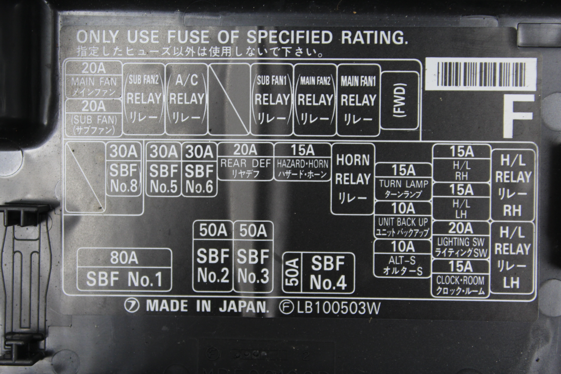 Subaru Impreza Fuse Box Diagram On Alternator Wiring Diagram Symbol