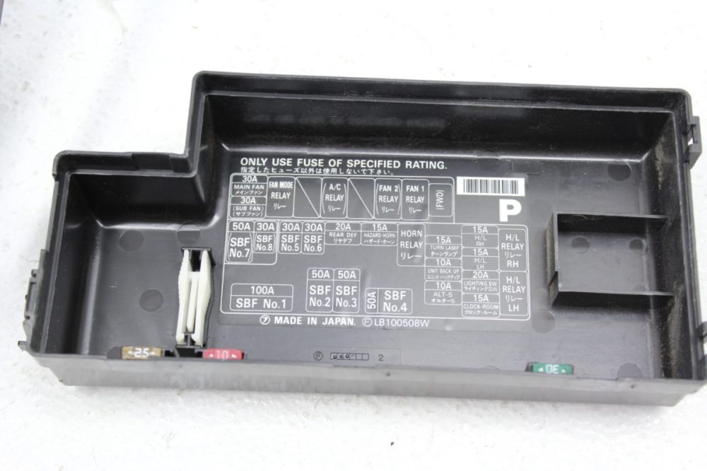medium resolution of 2004 2008 subaru forester xt fxt fuse box relay box oem factory 042004 2008 subaru forester