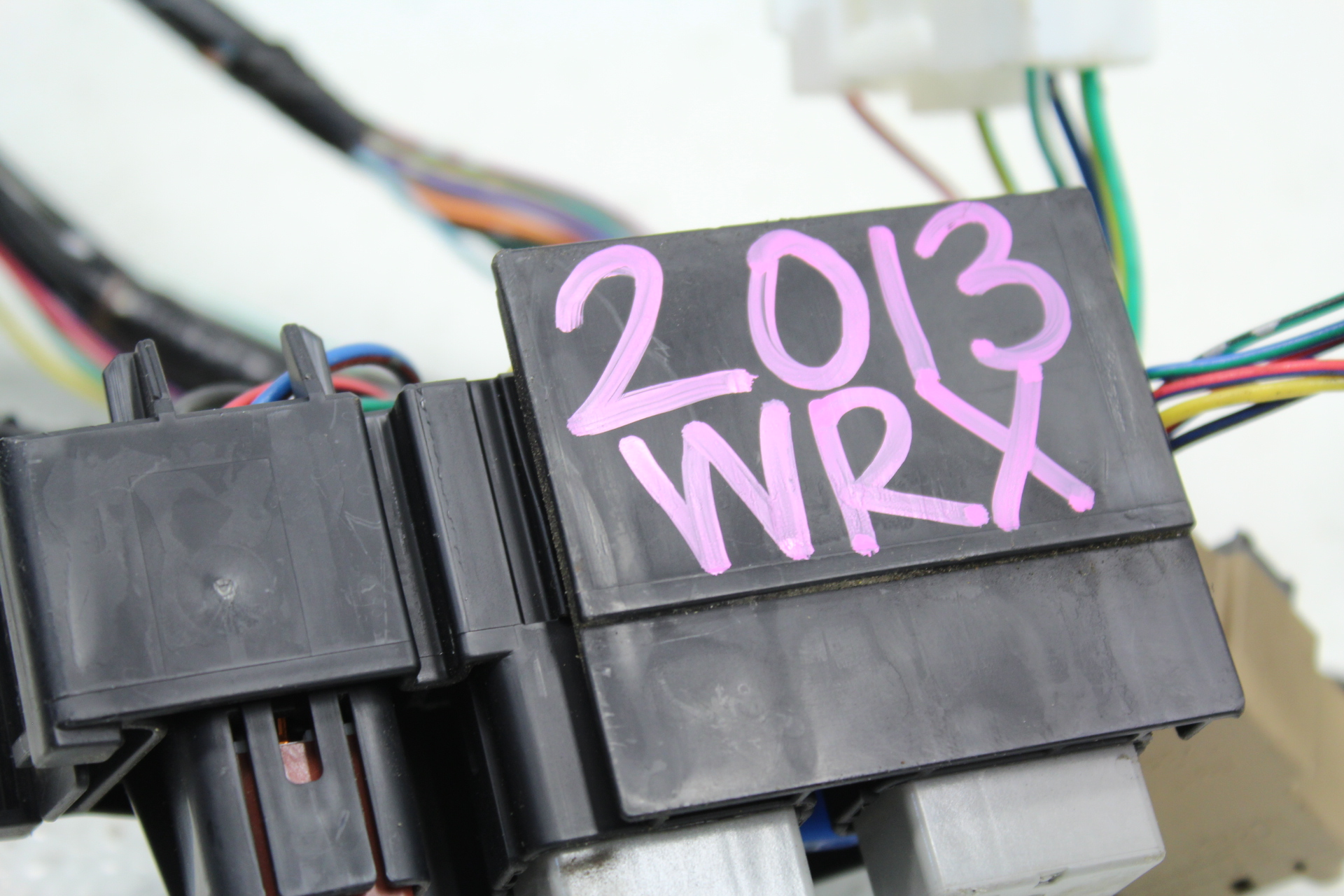 Wrx Wiring Harness Cost