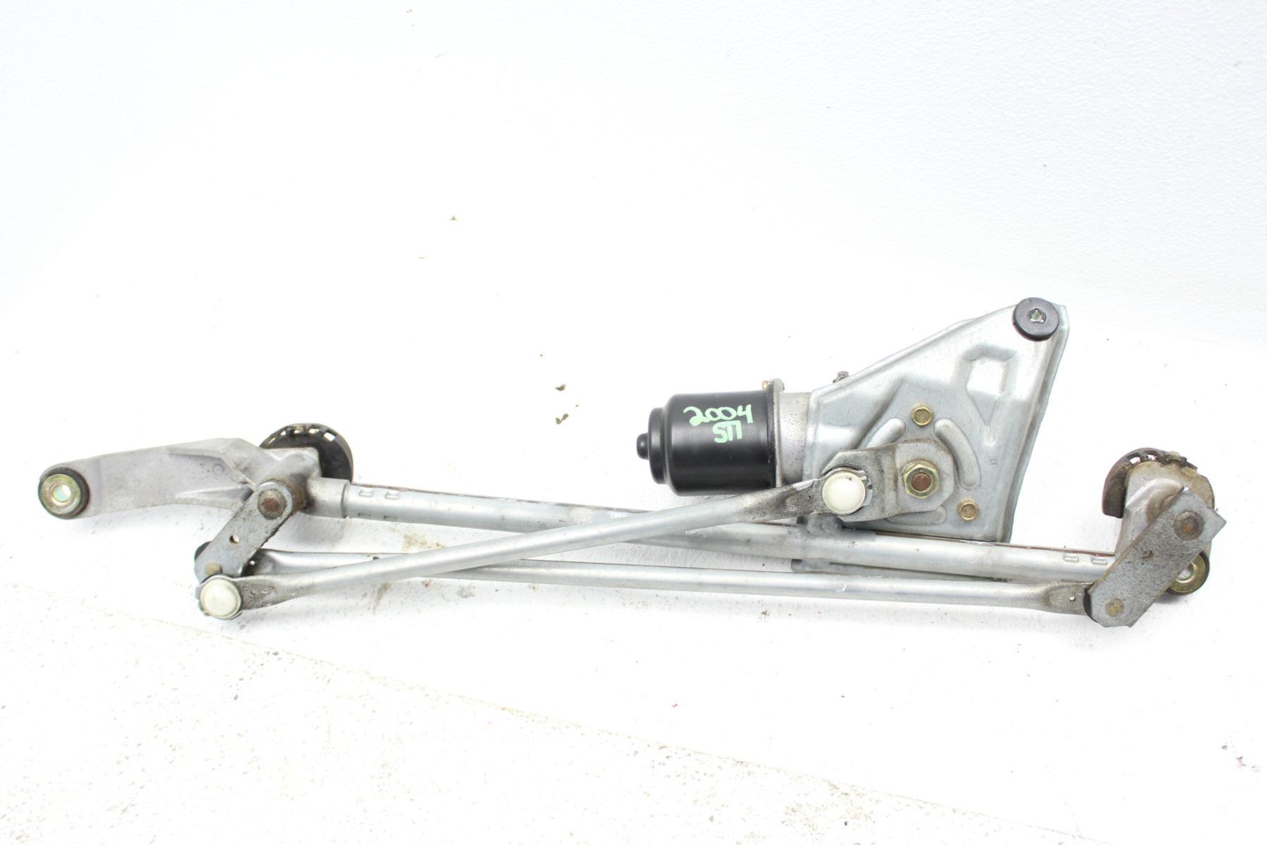 2004-2007 SUBARU WRX STI WINDSHIELD WIPER MOTOR LINKAGE