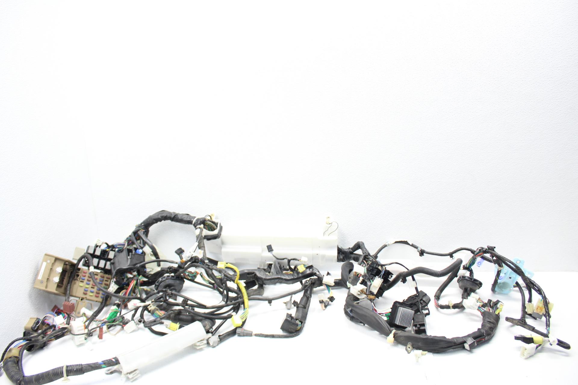 11 Subaru Wrx Sti Bulkhead Dash Wiring Harness Oem