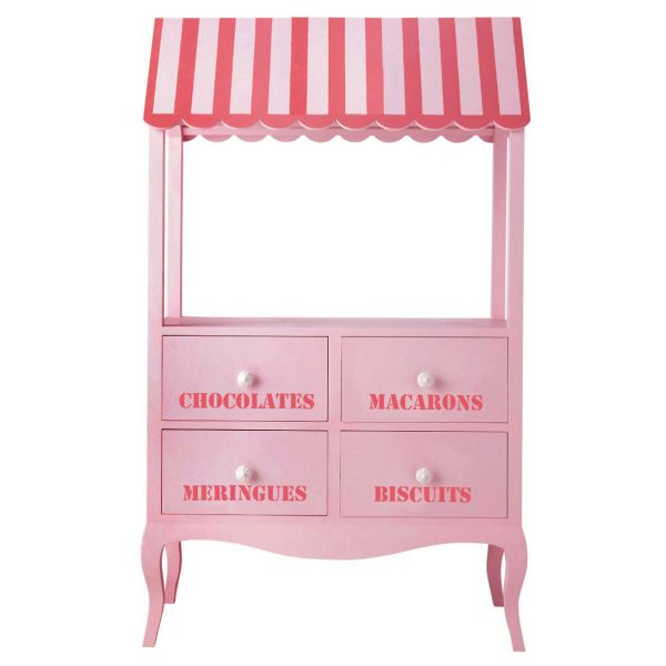KIDS STAND CHEST PINK