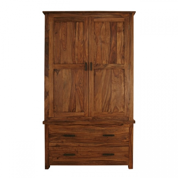 WARDROBE WITH TWO DRAWERS