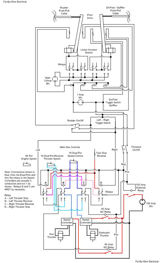 12 24 Volt Wiring Diagrams Trolling Motors On 12 Download Wirning ...