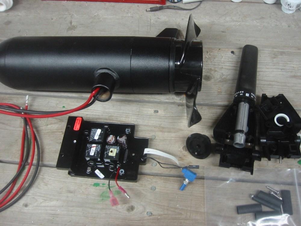 medium resolution of wiring the minn kota thrusters