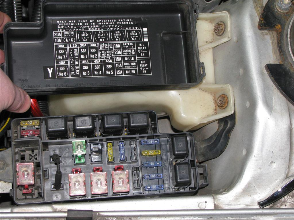 1993 Subaru Legacy Fuse Box Diagram