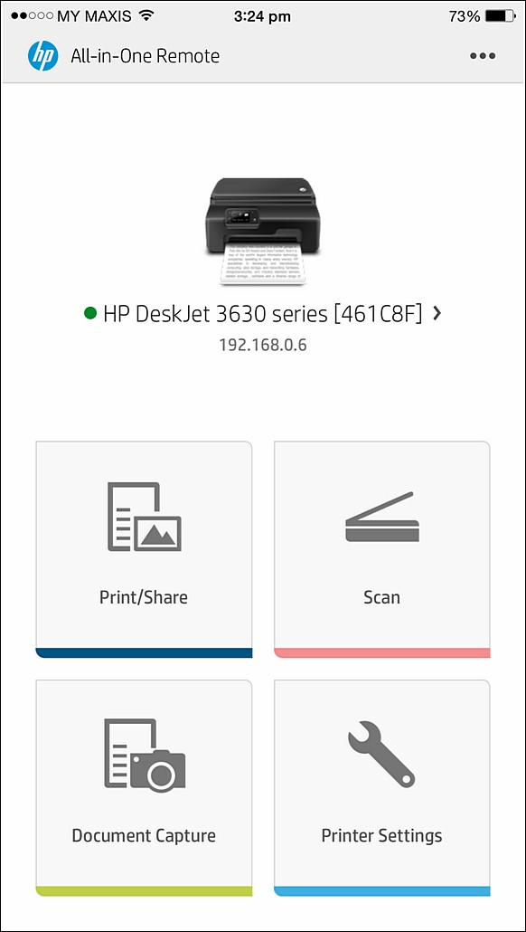 Wireless Printing with HP DeskJet Ink Advantage 3635 All