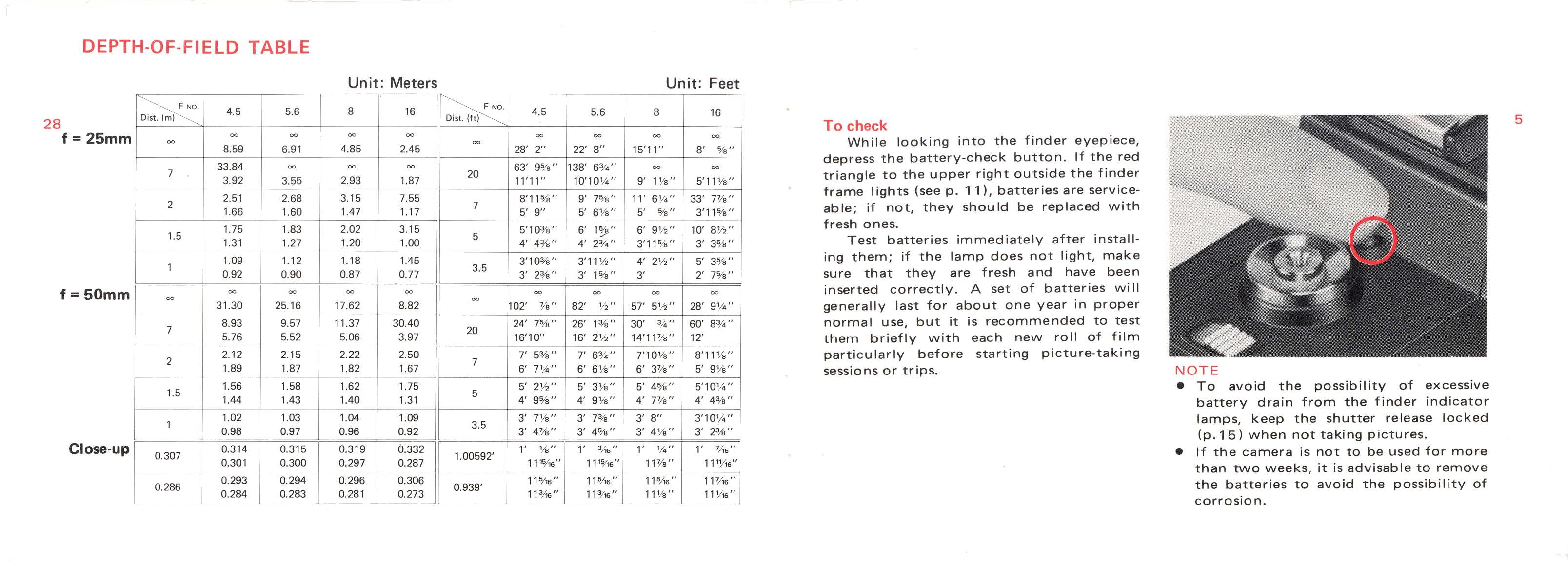 Minolta 110 Zoom SLR Manual