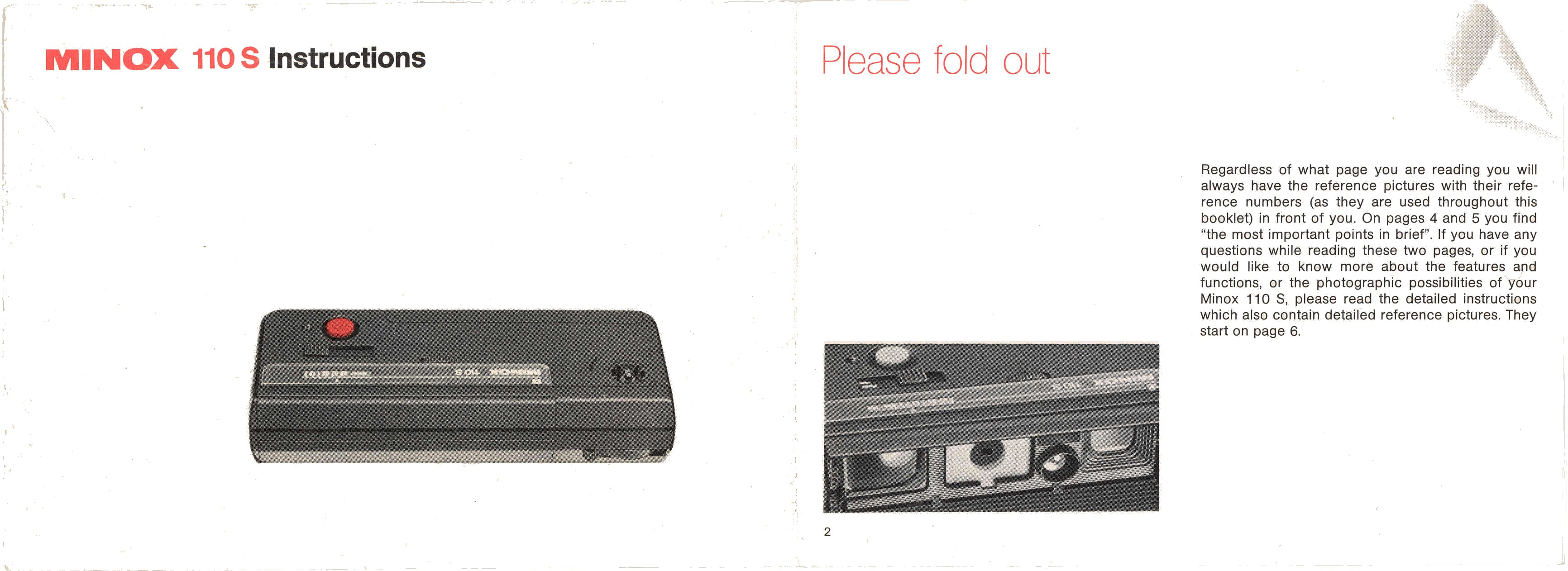 Minox 110s Manual