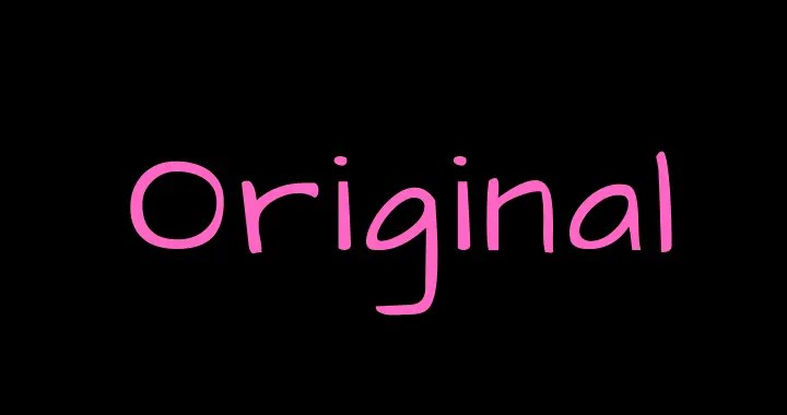 oroginal