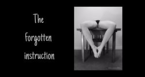 The forgotten instruction