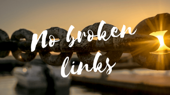 No Broken Links - SEO Singapore